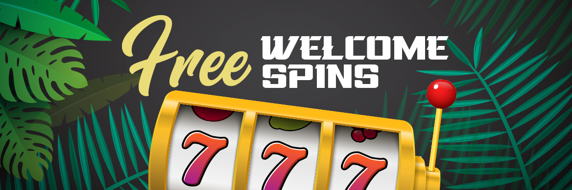 FREE WELCOME SPINS